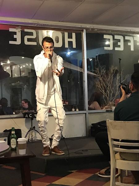 Danny K at Austin's Coffee