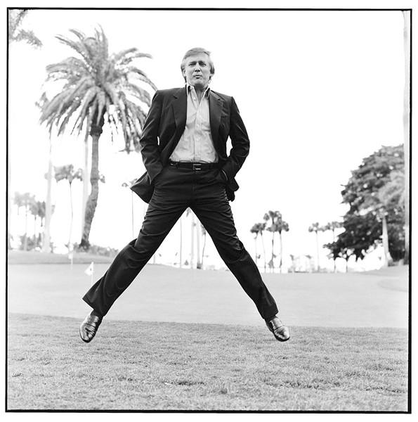DONALD TRUMP AT MAR-A-LAGO, 1997 (PHOTOGRAPH FOR THE NEW YORKER BY MAX VADUKUL)
