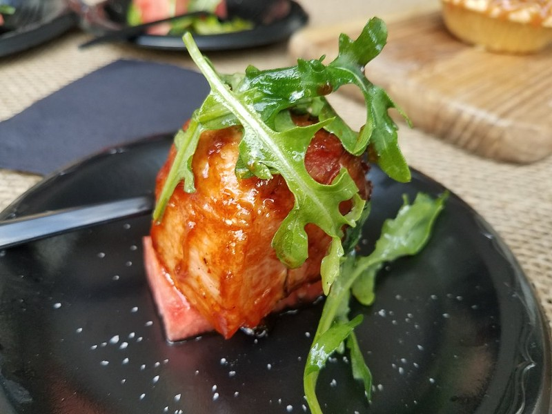 BBQ pork belly (K Restaurant) - FAIYAZ KARA