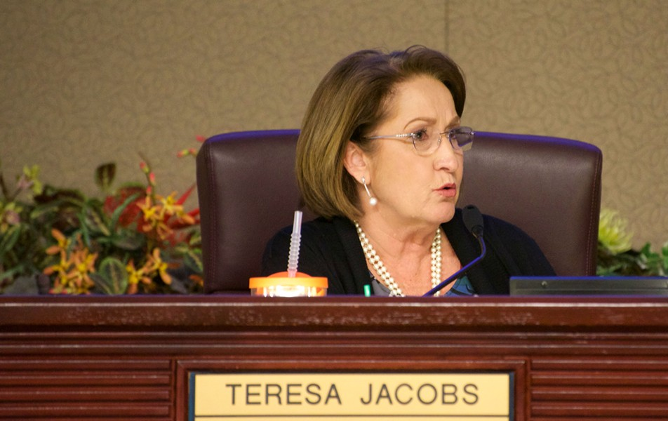 Orange County Mayor Teresa Jacobs - PHOTO BY MONIVETTE CORDEIRO