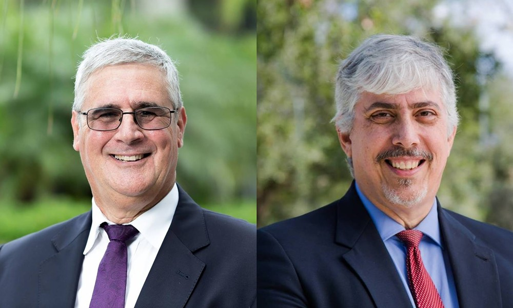 Jeff Ashton, left, and Howard Friedman, right, are both running for judge in the Ninth Judicial Circuit.