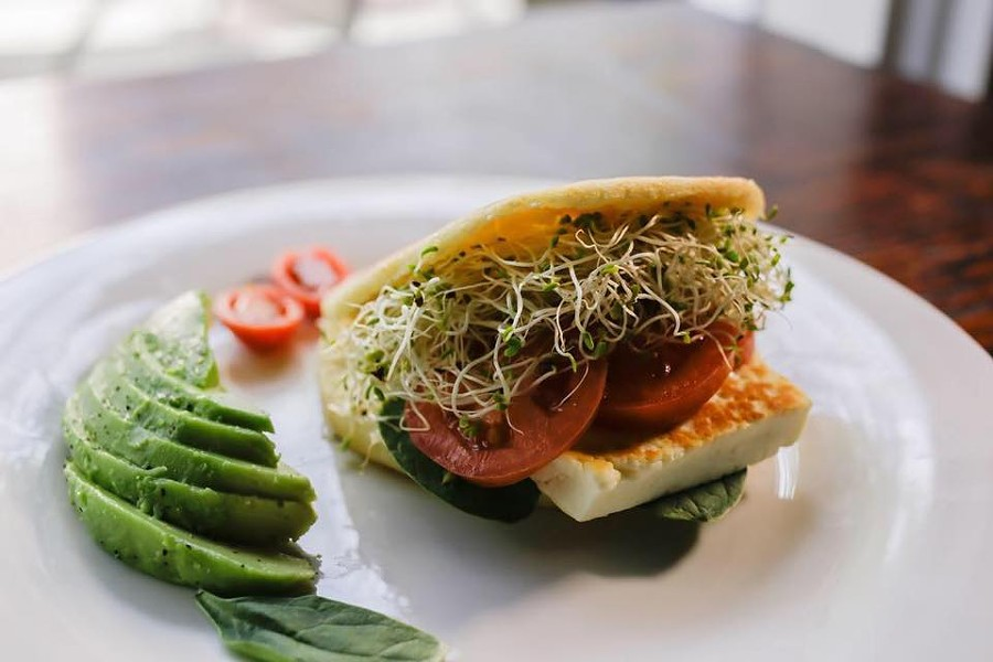 Veggie arepa - PHOTO VIA CFS COFFEE/FACEBOOK