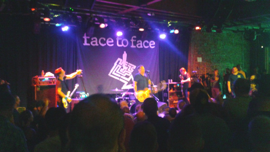 Face to Face Triple Crown at the Social