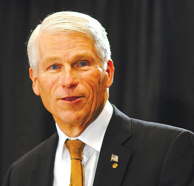 UCF President John Hitt - PHOTO BY UNIVERSITY OF CENTRAL FLORIDA