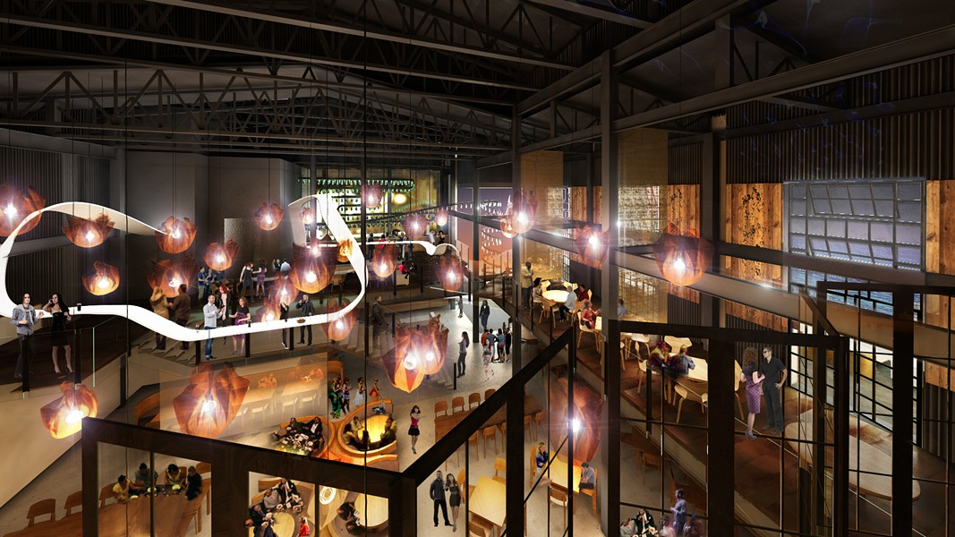artist's rendering of the interior of Morimoto Asia - VIA WALT DISNEY WORLD