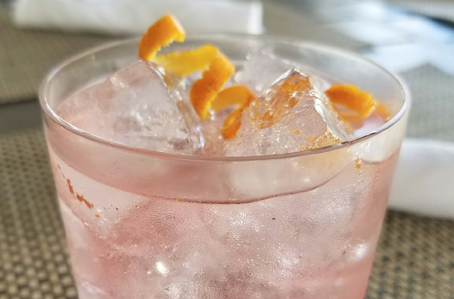 Hibiscus Gin + Tonic - PHOTO COURTESY 1921 MOUNT DORA