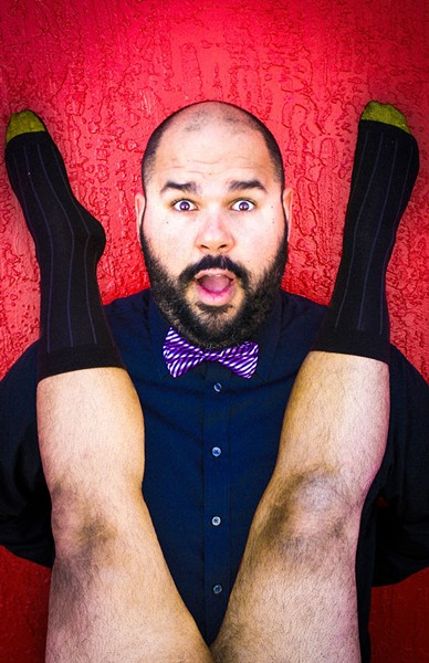 Logan Donahoo in 'Slut Like Me' at the Orlando Fringe