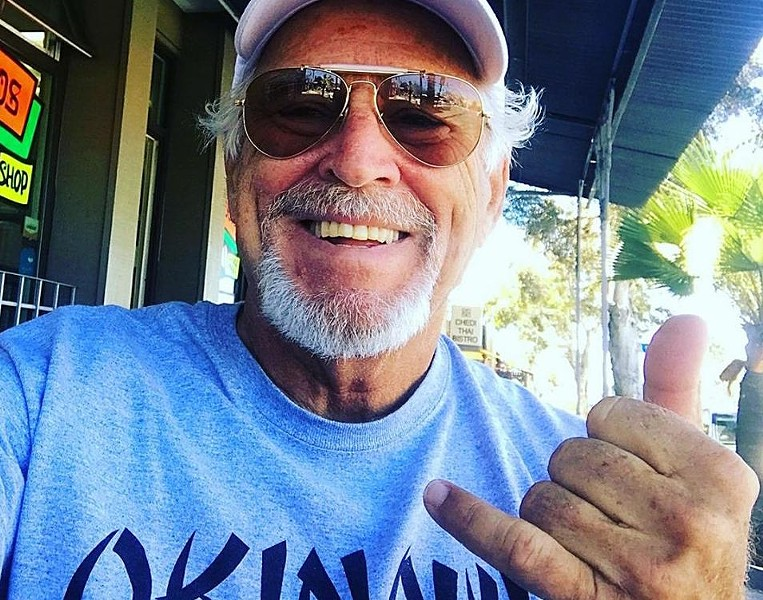 Jimmy Buffett - PHOTO VIA JIMMY BUFFETT/FACEBOOK
