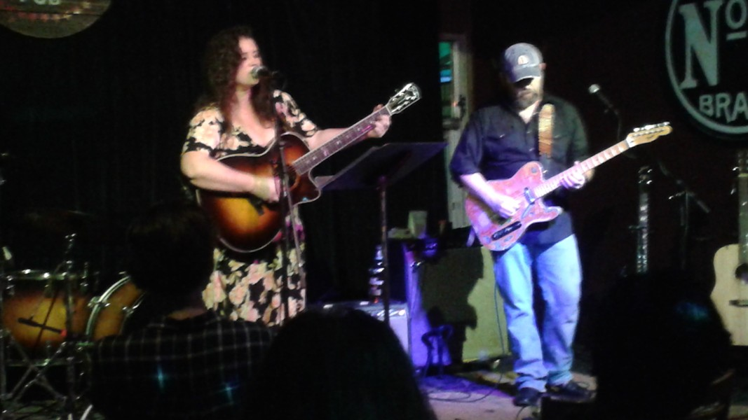 Kaleigh Baker and Brian Chodorcoff at Country Covers 5 (Will's Pub)