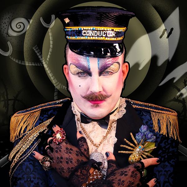 Neil Arthur James in Dandy Darkly's All Aboard! - IMAGE VIA THE ARTIST