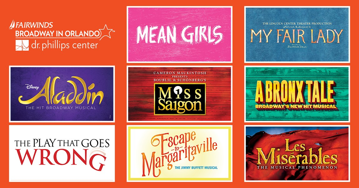 The 2019-2020 Fairwinds Broadway in Orlando season was announced in February. The Dr. Phillips Center announced an additional title today. - VIA DR. PHILLIPS CENTER FOR THE PERFORMING ARTS