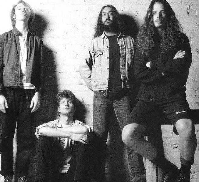 Soundgarden in their prime. - PHOTO VIA SOUNDGARDEN/FACEBOOK