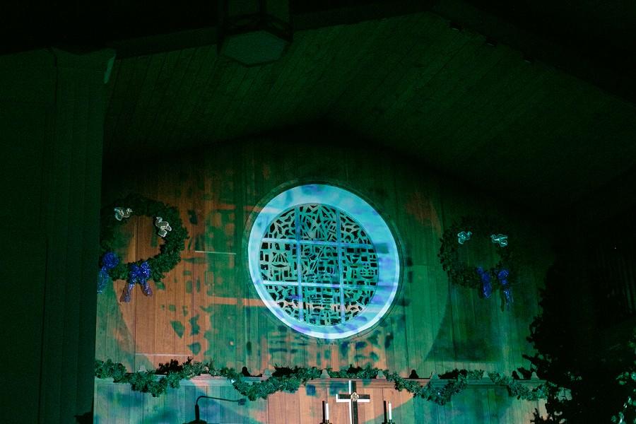 Visuals by Kate Shults at Counterweight (Audubon Park Covenant Church) - LIV JONSE