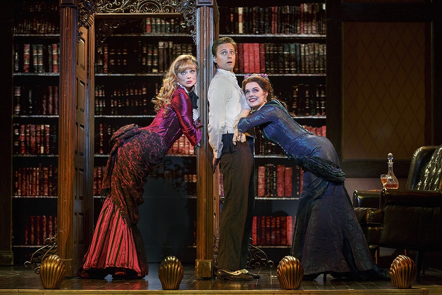 'A Gentleman's Guide to Love and Murder' is now playing at Orlando's Dr. Phillips Center - PHOTO COURTESY FAIRWINDS BROADWAY IN ORLANDO