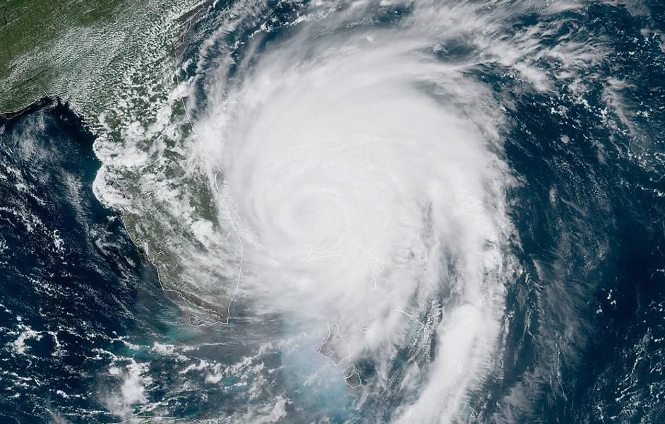 IMAGE VIA NOAA GOES TAKEN AT SEPT. 3 AT 12:40 P.M.