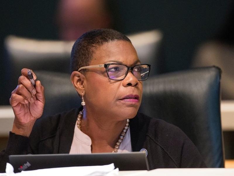 Senate Minority Leader Audrey Gibson - PHOTO VIA NEWS SERVICE OF FLORIDA