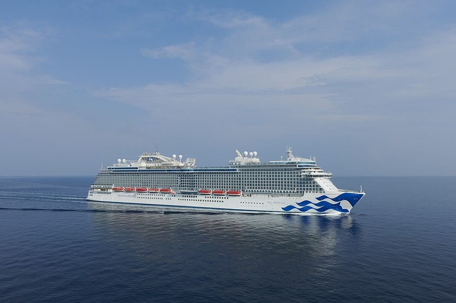 Princess Cruises' Sky Princess - IMAGE VIA PRINCESS CRUISES | FACEBOOK