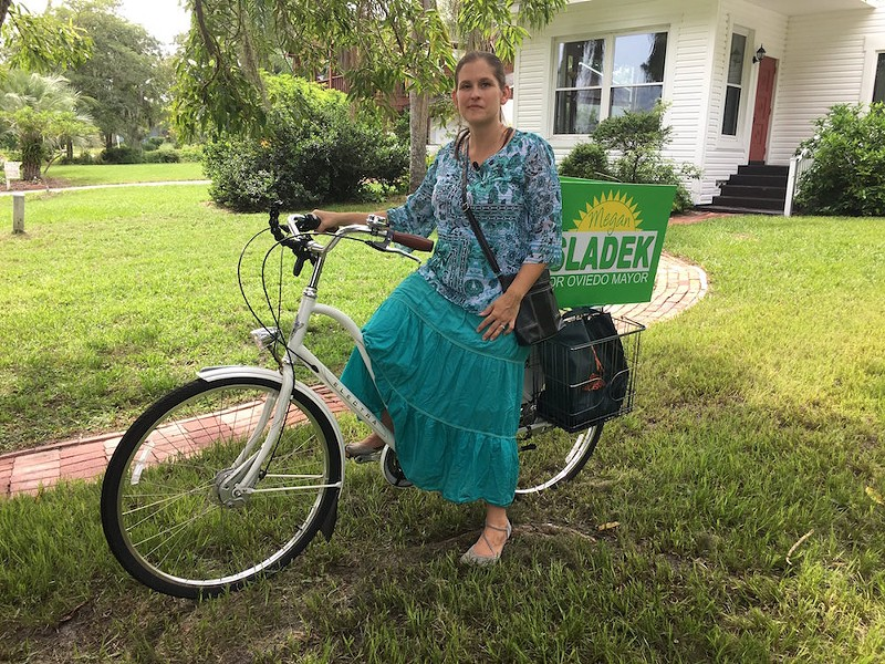 This is Oviedo Mayor-elect Megan Sladek. Also, women do stuff. - PHOTO VIA ASHER WILDMAN TWITTER @ASHERWILDMAN13
