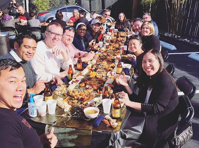 The Filipino Kamayan Feast at Kadence Orlando - PHOTO VIA KADENCE ORLANDO/FACEBOOK