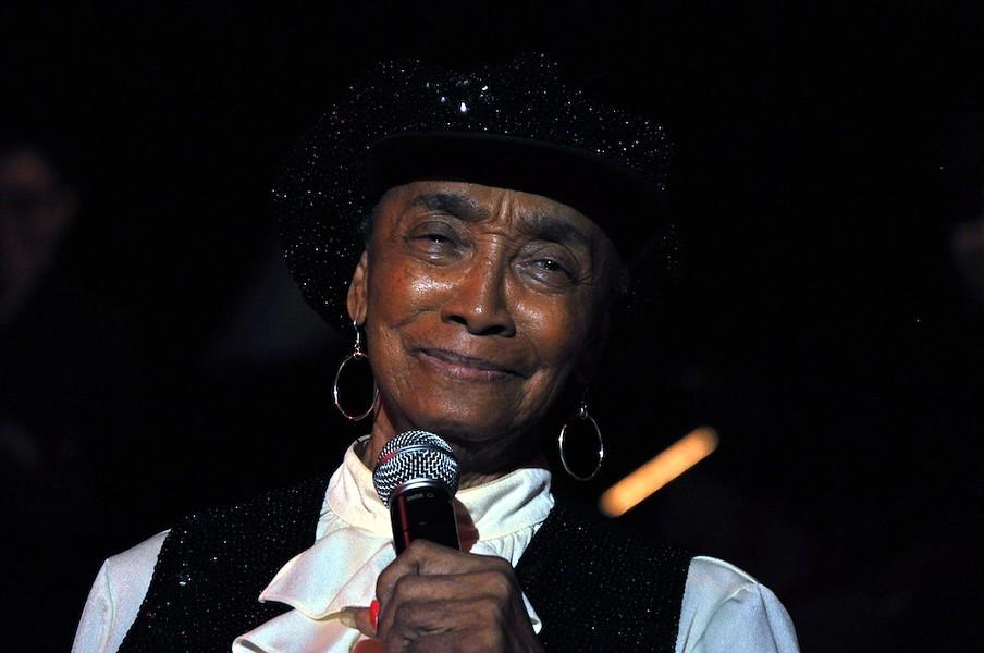 Norma Miller in 2009 at the Century Ballroom, Seattle, Washington - PHOTO BY JOE MABEL/CENTURY BALLROOM