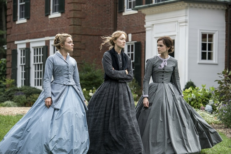 Florence Pugh, Saoirse Ronan and Emma Watson in 'Little Women' - PHOTO COURTESY COLUMBIA PICTURES