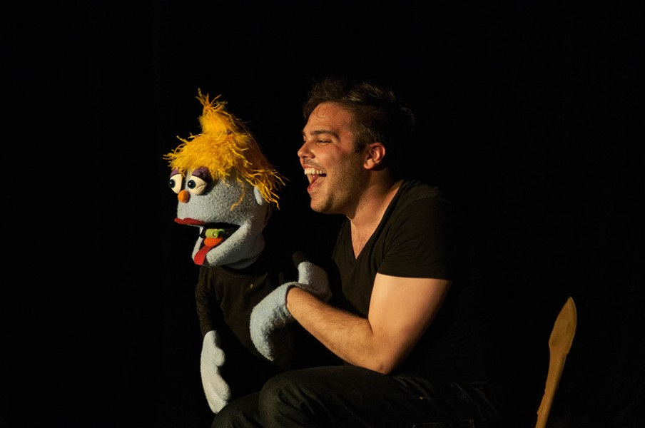 'Baker's Dozen: 12 Angry Puppets,' starring Adam Francis Proulx - PHOTO BY LILLY HASTINGS