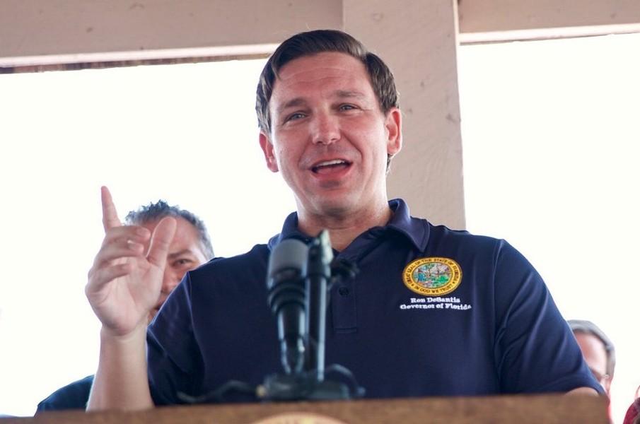 PHOTO VIA GOVERNOR RON DESANTIS
