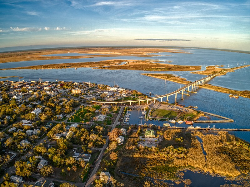 Apalachicola is a small Coastal Community on the Gulf of Mexico in Florida's Panhandle. - PHOTO VIA ADOBE STOCK
