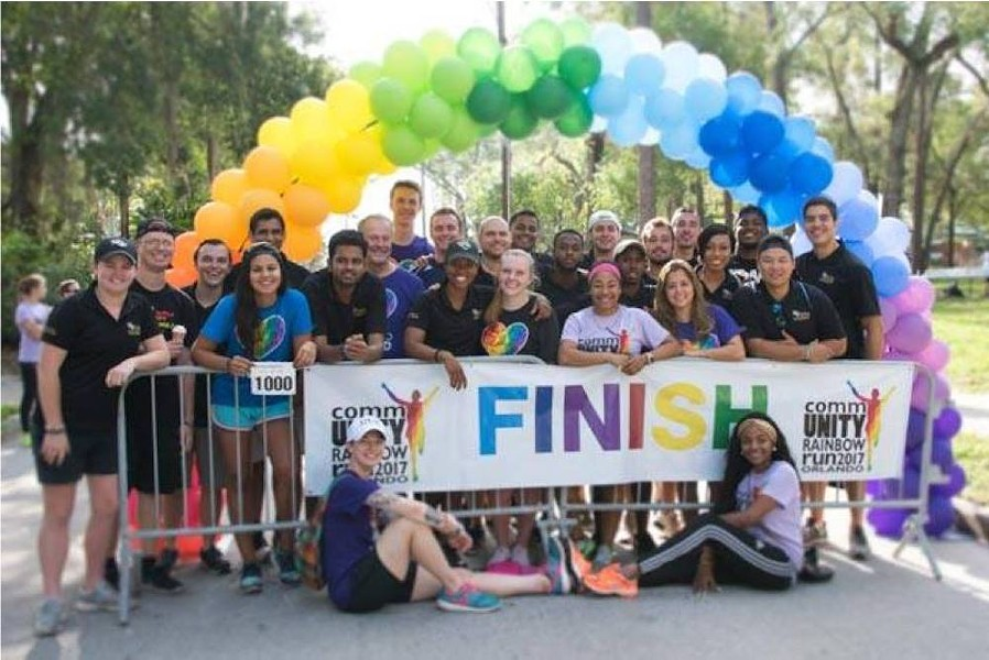 The 2018 CommUNITY Rainbow Run - PHOTO COURTESY COMMUNITY RAINBOW RUN/FACEBOOK