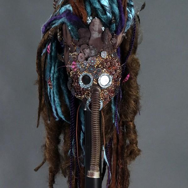 'Akudu' - ART BY BEN VAN BEUSEKOM, PHOTO COURTESY LARIMER & CO. BRANDING STUDIOS
