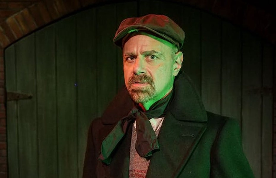 Clifford Crease, the haunted tour guide - PHOTO COURTESY TITANIC, THE ARTIFACT EXHIBITION