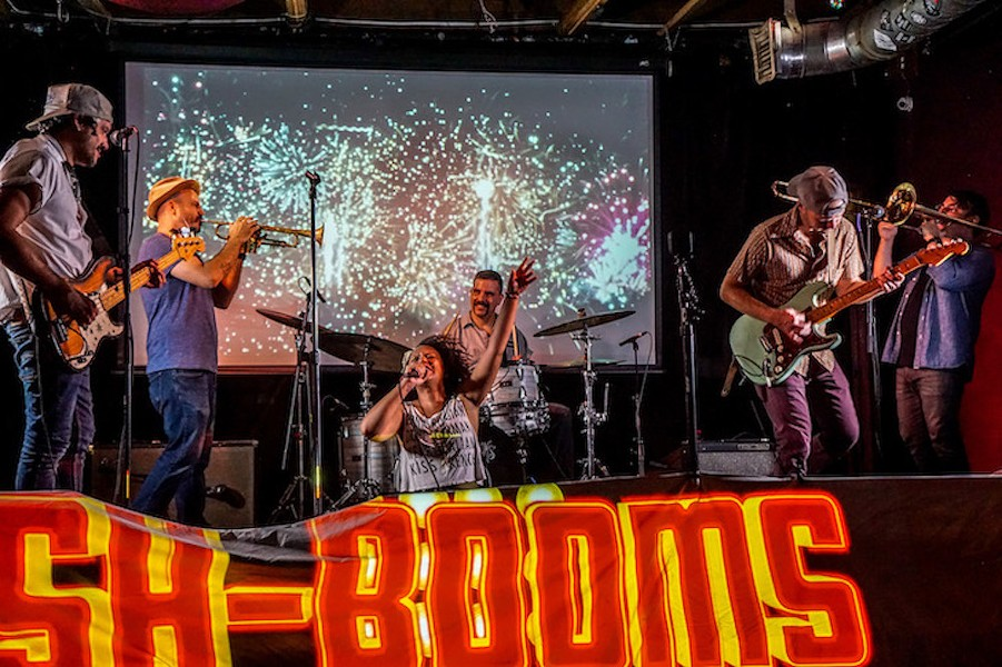 The Sh-Booms, streaming from Will's - PHOTO BY JIM LEATHERMAN FOR ORLANDO WEEKLY