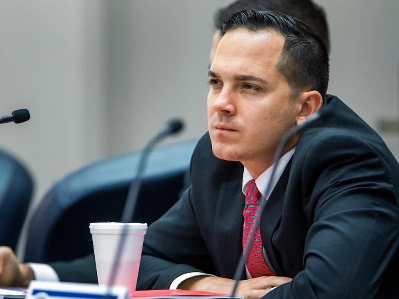State Rep. Anthony Sabatini, R-Howey-in-the-Hills, is attorney in a case challenging the mask ordinance. - PHOTO VIA NEWS SERVICE OF FLORIDA
