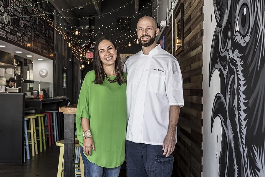 Juliana and John Calloway - PHOTO BY ROB BARTLETT