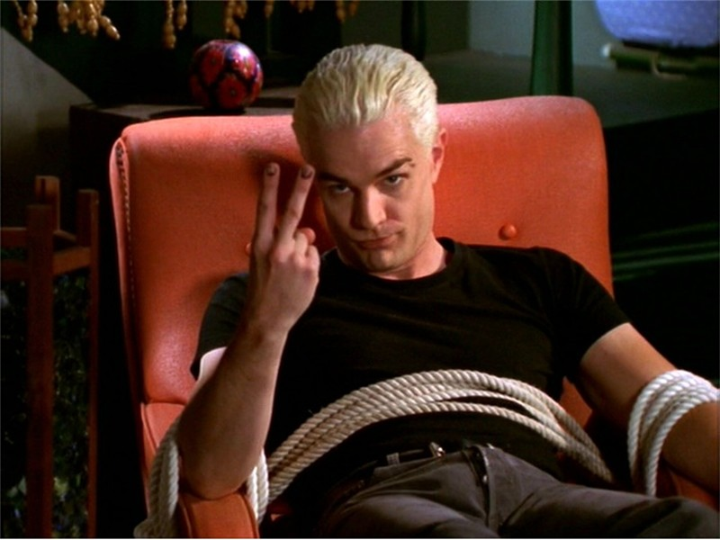 James Marsters as Spike