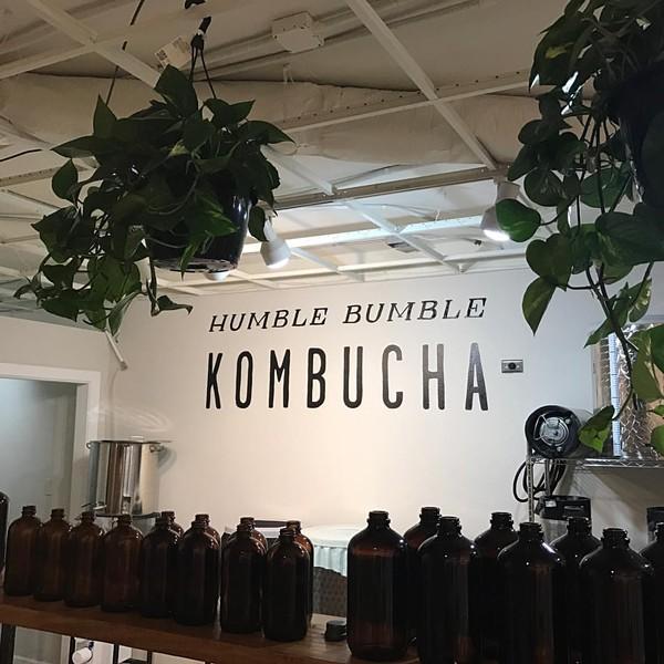 PHOTO VIA HUMBLE BUMBLE KOMBUCHA