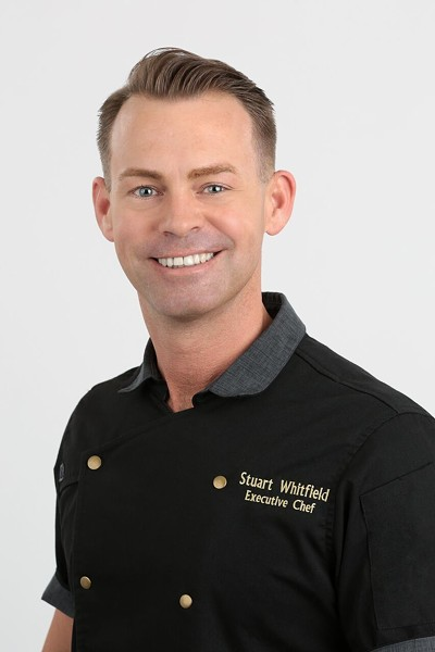 Executive chef Stuart Whitfield