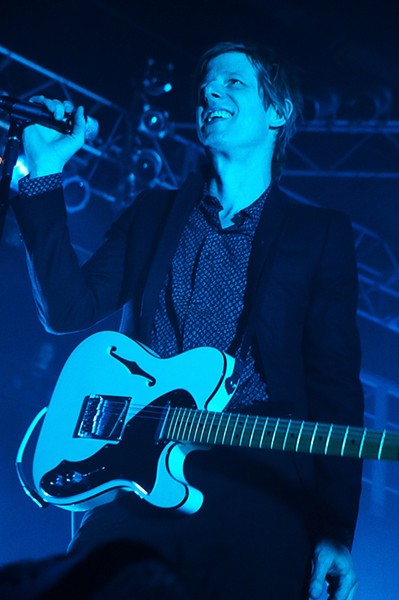 Spoon at House of Blues - JIM LEATHERMAN