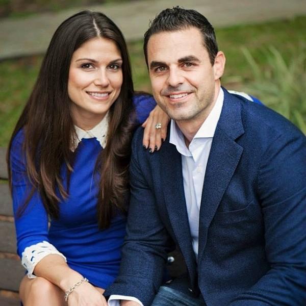 Elise Sabatino and Giovanni Fernandez