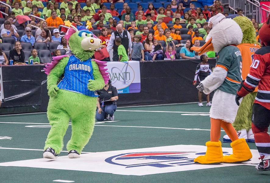 Mascot Games at Amway