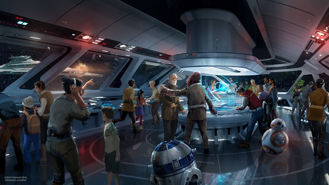 STAR WARS HOTEL AT DHS | IMAGE VIA DISNEY