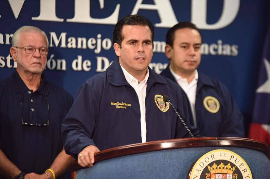 PHOTO VIA PUERTO RICO GOV. RICARDO ROSSELLÓ/FACEBOOK