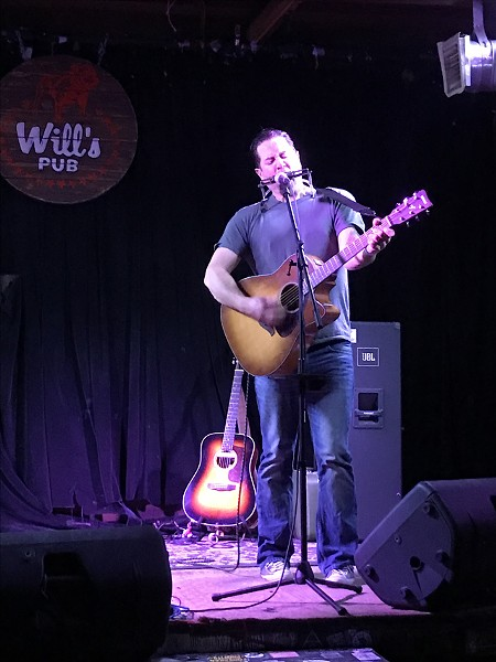 Wil Ridge at Will's Pub