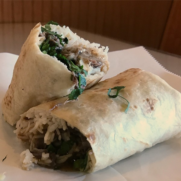 NEHARI BURRITO / IMAGE COURTESY OF BBQ TONIGHT