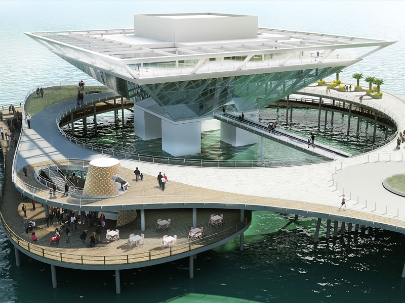 DESTINATION ST PETE PIER PROPOSAL | IMAGE VIA CITY OF ST. PETERSBURG, FLORIDA
