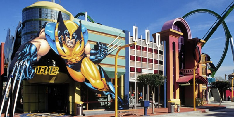 Disney theme parks are going all in on Marvel, yes, even in