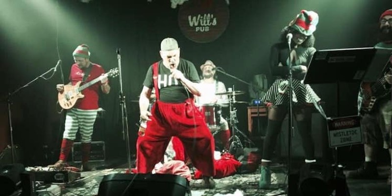 Bad Santa and the Angry Elves kick off their yearly sonic revels at Will's Pub in December