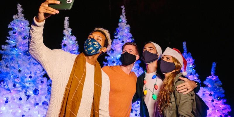 'Dazzling Nights' holiday event returns to Orlando's Leu Gardens in November