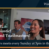 Weekend Toastmasters