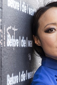 Candy Chang discusses her acclaimed 'Before I Die' project at Rollins College
